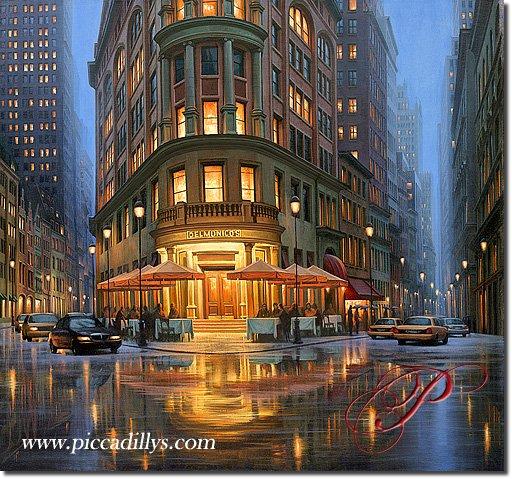 New York Delmonico S Restaurant