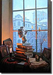 Image of painting titled A Room With A View by artist Alexei Butirskiy