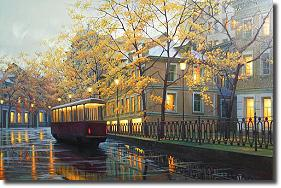 Image of painting titled Autumns Glow by artist Alexei Butirskiy