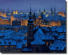 An Evening In Prague By Alexei Butirskiy