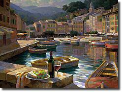 Harborside At Portofino by Leon Roulette